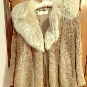 Neiman Marcus vintage mink fur coat (light brown)